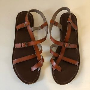 🌟3/$10🌟Leather Sandals